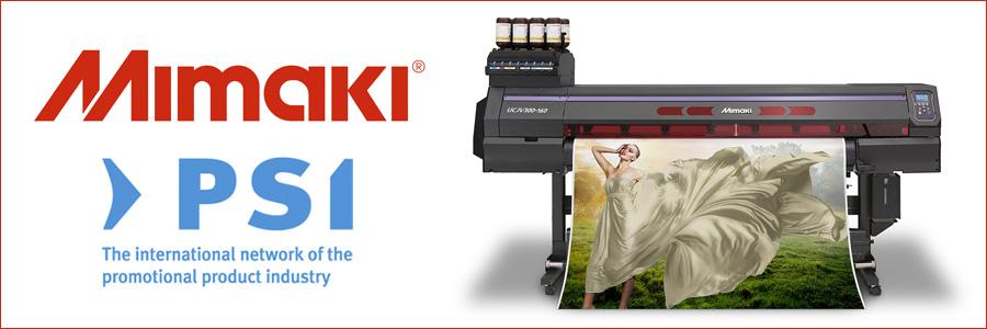 Mimaki, leader globale nella produzione di stampanti inkjet di grande formato e sistemi da taglio, sarà presente a PSI 2018 (Düsseldorf Messe - 9..