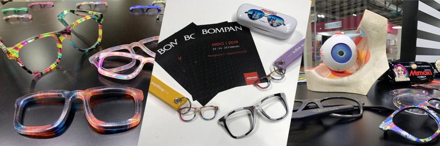 Per la prima volta Bompan ha partecipato a MIDO per presentare a visitatori e professionisti del settore come le stampanti Mimaki, di cui è..