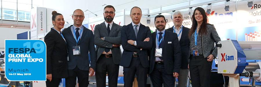 Xlam è felice di annunciare la sua partecipazione al FESPA Global Print Expo 2019 di Monaco con le sue soluzioni professionali per la laminazione ed..