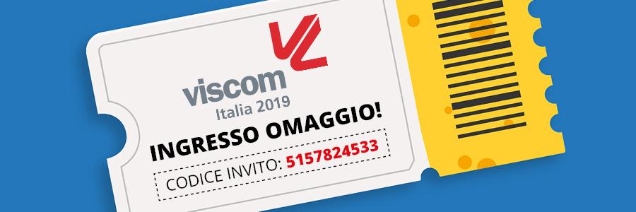 Anche quest\'anno saremo presenti al Viscom Italia, Fieramilano dal 10 al 12 Ottobre, per presentarvi le ultime novità dei marchi distribuiti in..