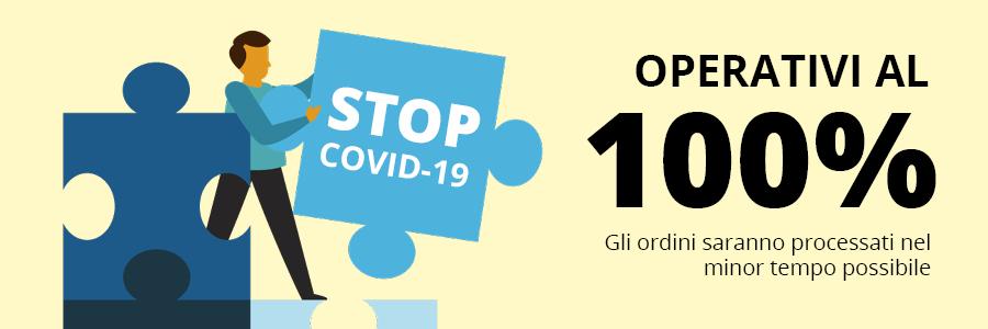 Nel pieno rispetto delle normative in atto relative al contenimento del COVID-19, Siamo tornati operativi al 100%. Abbiamo anche introdotto una nuova..