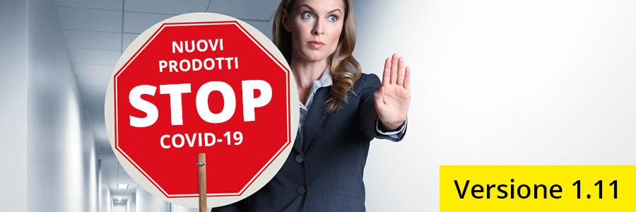 Abbiamo aggiornato la nostra gamma di prodotti Stop Covid-19 con tutto il necessario per affrontare al meglio questo periodo di emergenza..